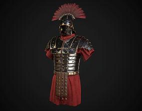 Roman armor lorica segmentata 3D model