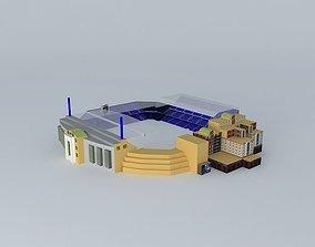 3D model Stamford Bridge Stadium Chelsea FC