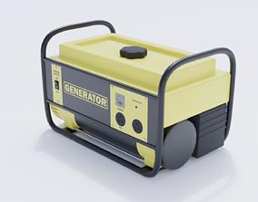 3D model VR / AR ready Portable Generator