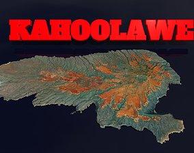 Kahoolawe Island 3D asset