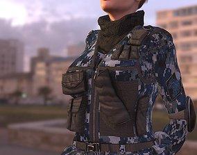 3D asset Mercenary Panther