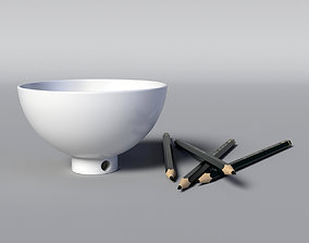 Bowl Sharpener 3D model