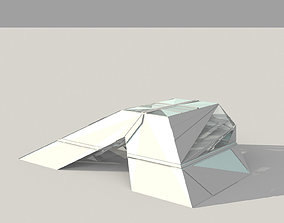 Futuristic Pavilion 3D model