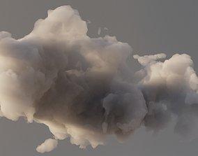 3D model Cloud Polygon Blender 9