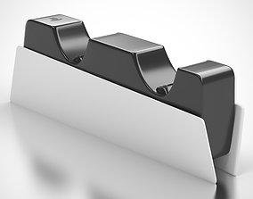 PS5 DualSense Charging Station 3D