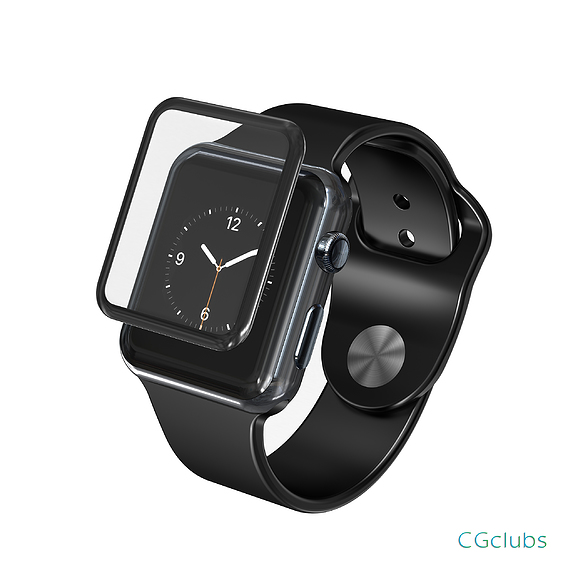 Apple watch 3 with protection glass