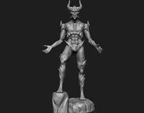 creature Demon - 3D printing ready