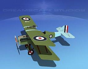 3D RAF SE-5A Fighter V02