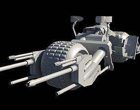 3D model VR / AR ready BATPOD