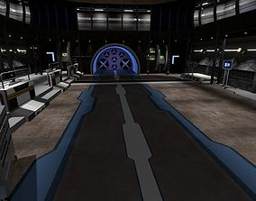3D Speedlab-Corridors-hall from STAR Labs other