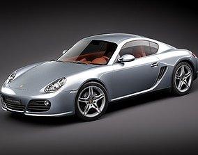 3D model Porsche Cayman S 2011