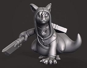 3D print model Veyluu Rogue - Custom DnD Miniature