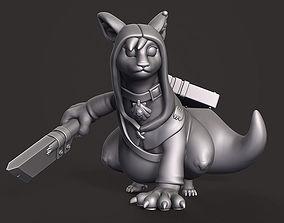 Veyluu Rogue - Custom DnD Miniature 3D print model