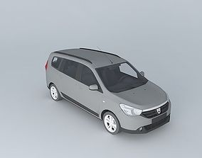 2013 Dacia Lodgy 3D
