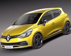 3D model Renault Clio 2013 RS 200
