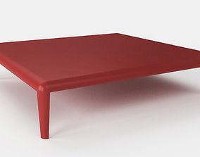 3D model table Porro - Ferro -Table