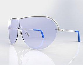 3D model Sunglasses shield1