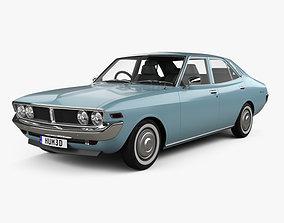 3D model Toyota Mark II 1972