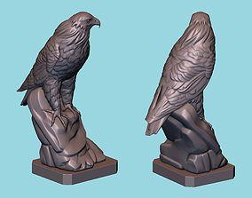3D print model Hawk statue hawk