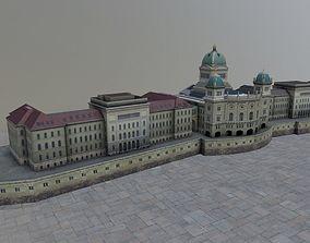 Bern Palais Federal 3D asset