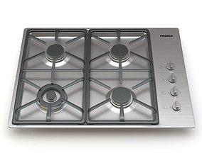 3D stove 4 Burner KM 3464 G Gas Cooktop