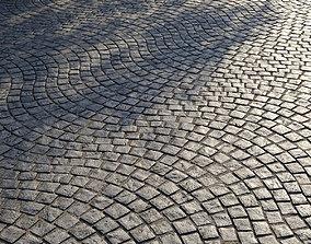 3D Stone pavers Type 4