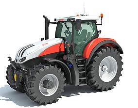 Steyr Tractor 3D model
