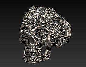 3D print model thomas wittelsbahc skull ring style