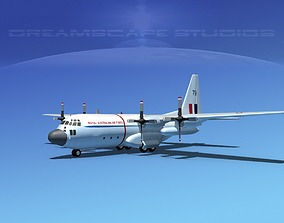 3D model Lockheed C-130 Hercules RAAF