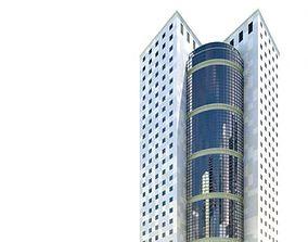 Modern Skyscraper architectural 3D