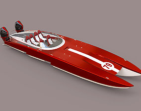 3D Powerboat C3800