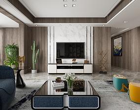 A010-Liveroom Modern style 3D