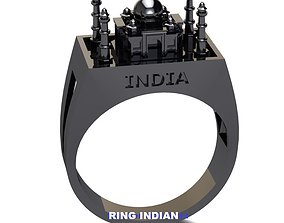 RING INDIA 3D printable model