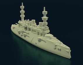 Battleship Charles Martel 3D printable model