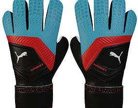 Puma One 4 Glove Blue 3D