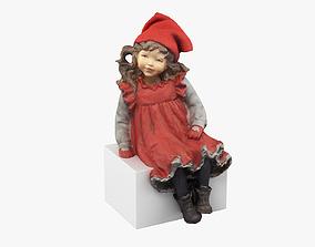 Girl Figurine 3D model