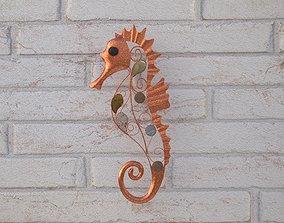 3D Seahorse walldecoration