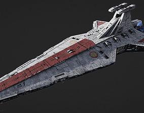 Venator-class Star Destroyer 3D