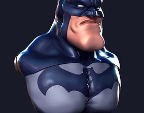 3D printable model Batman bust batmancollectibles