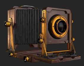 Old Antique Camera PBR 3D asset