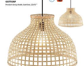 3D model GOTTORP Pendant Lamp Shade - Bamboo - Ikea