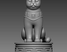 Cat 3D print model pussycat