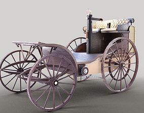 3D asset Cederholmaren Steam Car