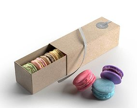 Macarons Gift Box 3D model