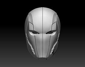 Red Hood helmet mask for cosplay 3D print model 4