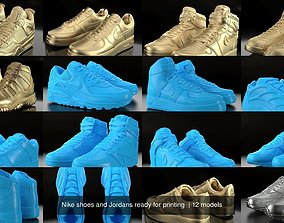 3D Nike shoes and Jordans ready for printing