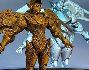 Pharah 3D printable model sculptures