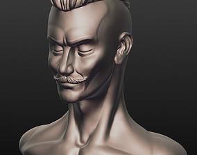 Sculpted hipster 3D