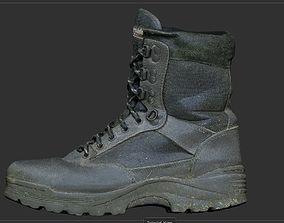 3D model Military Boot