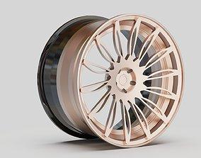 3D model rims pink